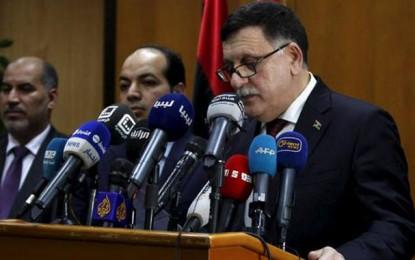 Libye : Manifestation de soutien à Faïez Al-Sarraj