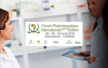 Le Forum pharmaceutique international du 28 au 30 avril à Hammamet