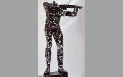 Exposition : La danse d'acier de Hamadi Ben Neya