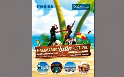 Le Hammamet Latin Festival programmé en juillet