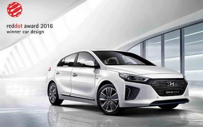 Red Dot Design Award : La Hyundai Ioniq primée en Allemagne