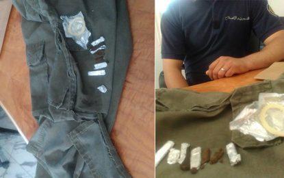 Jendouba : Drogue et préservatifs saisis à la prison Bulla Regia