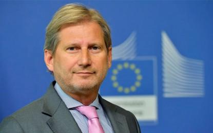 Visite en Tunisie du commissaire européen Johannes Hahn