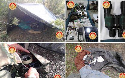 Kef : Découverte d'un camp terroriste à Jebel Ouergha