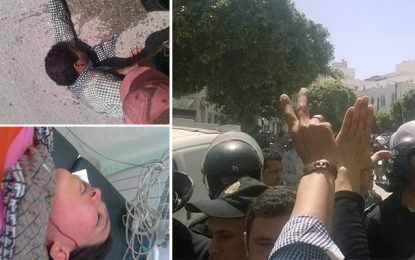 Tunis : La police disperse une marche des diplômés chômeurs