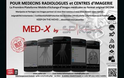 Lancement de la 1ère plateforme mobile d'échange d'images médicales