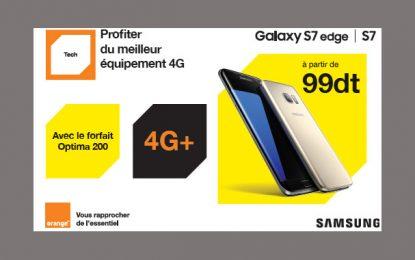 Orange Tunisie lance ses offres Samsung Galaxy S7 et S7 Edge