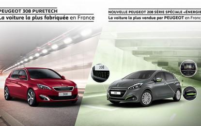Peugeot 208, la «best seller» ou Peugeot 308, la 1ère de son segment