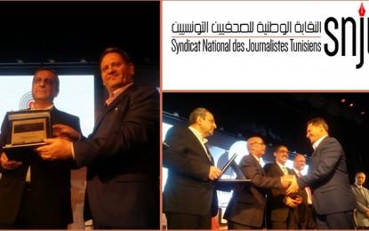 Le Syndicat des journalistes tunisien honoré en Egypte