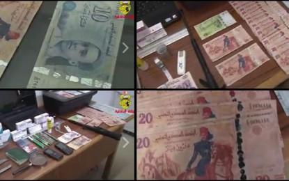 Tunis : Démantèlement d'un réseau de trafic de faux billets