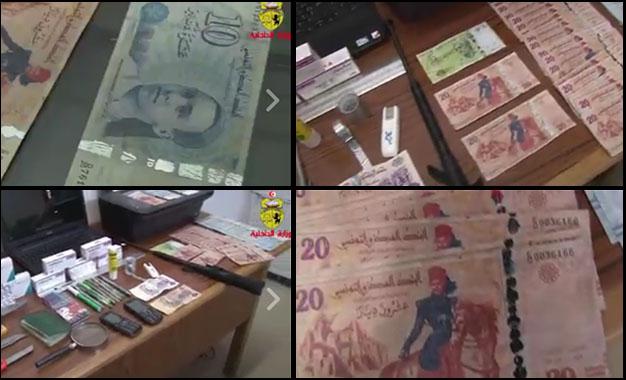 Tunis- Réseau trafic faux billets