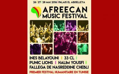 Afreecan Music: Le 1er festival humanitaire en Tunisie
