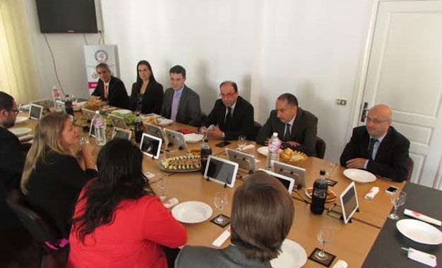 Des jeunes leaders am ricains re us l amcham kapitalis for Chambre de commerce en tunisie