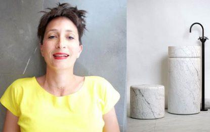 Design : La collection Marmo Spirito à la Musk and Amber Gallery