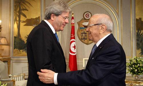 Caid-Essebsi-Gentiloni