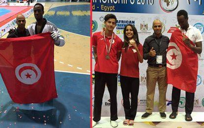 Championnat d'Afrique de taekwondo : 3 médailles pour la Tunisie