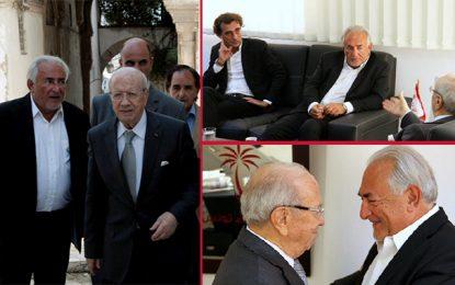 DSK au secours de l'économie tunisienne