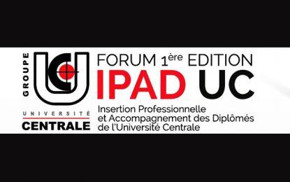 1ère édition du Forum IPAD'UC : Du diplôme à l'emploi