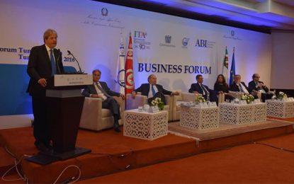 Forum tuniso-italien des affaires : Paix et prospérité partagées