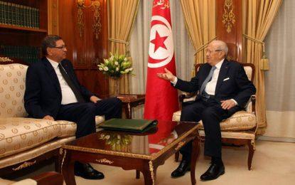 La situation au Maghreb au centre de la rencontre Caïd Essebsi-Essid