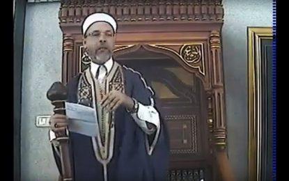 Daech sur le minbar d'une mosquée de Sfax