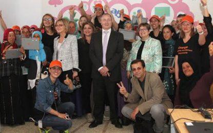 Orange Tunisie aux petits soins pour les femmes rurales à Jendouba