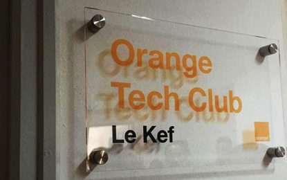 Orange Tunisie inaugure son 1er Tech Club au Kef