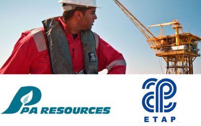 L'Etap reprend des titres d'hydrocarbures de PA Resources en Tunisie