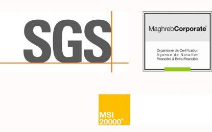 Gouvernance financière : SGS et Maghreb Corporate lancent la certification MSI 20000