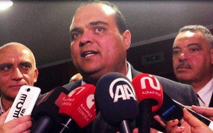 Soufiene Toubal nouveau porte-parole du groupe parlementaire Nidaa Tounes
