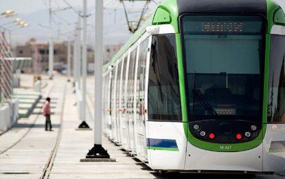 Ligne 2 du Métro de Tunis : Circulation sur une seule voie