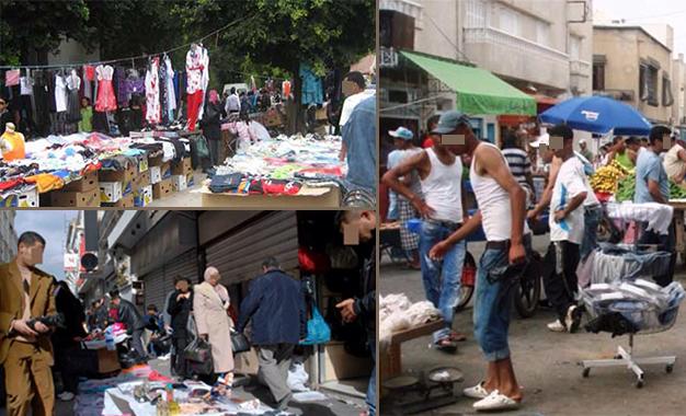 Vendeurs ambulants- centre-ville Tunis