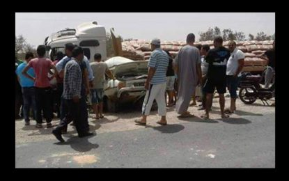El-Hencha : Décès de 2 frères dans un accident