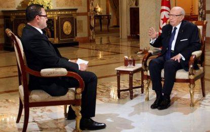 Caïd Essebsi appelle à un gouvernement d'union nationale