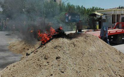 Gafsa : Des habitants en colère à cause d'une coupure d'électricité