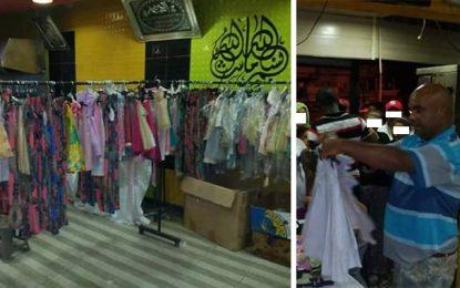 Kabaria : Repas d'iftar et vêtements de l'Aïd pour les nécessiteux