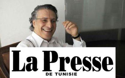 Quand le journal ''La Presse'' roule pour Nabil Karoui