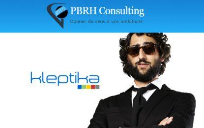 Accord de partenariat entre PBRH Consulting et Kleptika