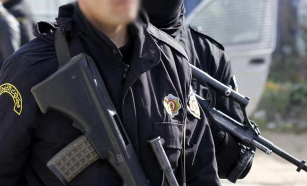Police Tunisie- ezzahra- armes