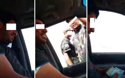 Suspension d'un policier pris en flagrant délit de corruption