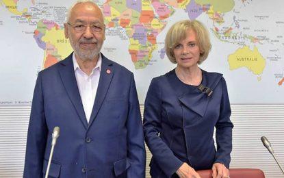 Rached Ghannouchi en France pour redorer l'image d'Ennahdha