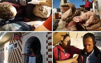 Sidi Bouzid : Des jeunes aux petits soins pour un SDF