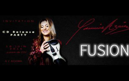 Sortie de  ''Fusion'', le 1er album de la violoniste virtuose Yasmine Azaiez