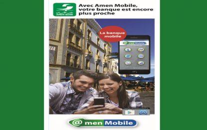 Amen Bank lance ses services à travers l'application Amen Mobile