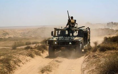 Zone militaire de Tatatouine : Décès d'un contrebandier dans un accident