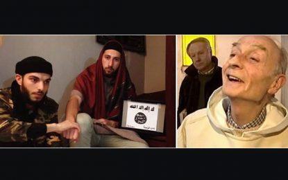 Attentat de l'église en France : Daech diffuse une vidéo des deux égorgeurs du curé