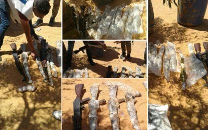 Cache d'armes à Ben Guerdane : Plusieurs arrestations