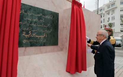 Exclusif : Bras-de-fer entre Caid Essebsi et Essid autour de la statue de Bourguiba