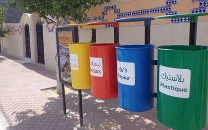 Environnement : Le buzz des poubelles de tri sélectif d'El-Maâmoura