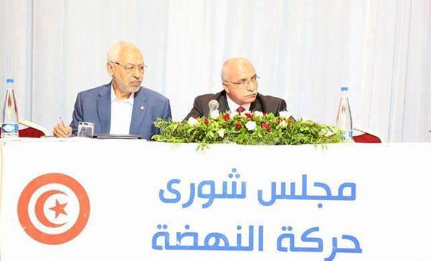 Ennahdha-Conseil-de-la-Choura-Ghannouchi-Harouni